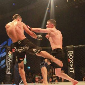 Mark Fry vs Danny Lawson MMA
