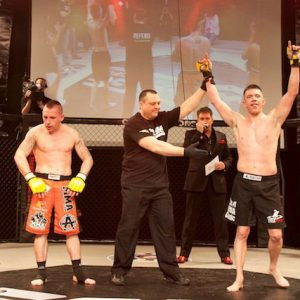Mark Fry win at Cage Warriors