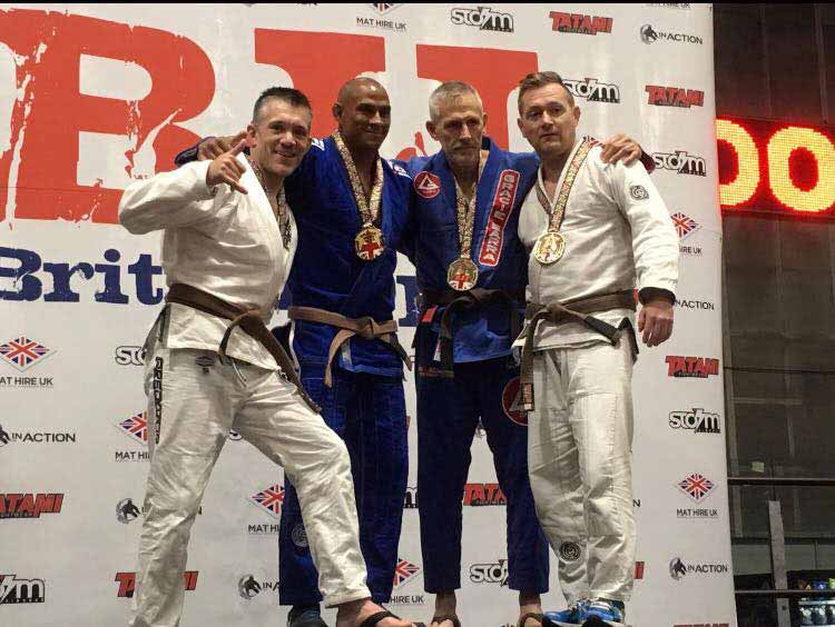 Mark Fry takes Silver at the British Open.
