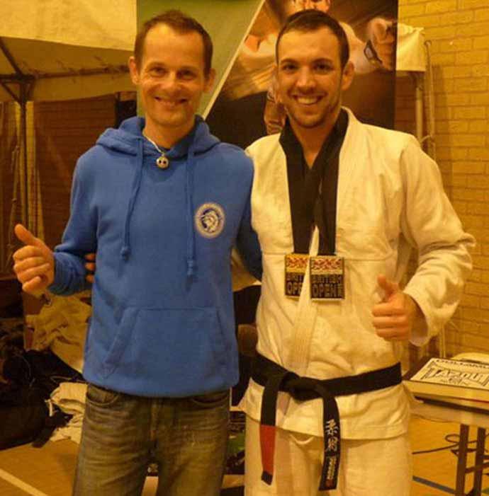 Brazilian Jiu-Jitsu Instructor Teaching Jiu-Jitsu in Essex