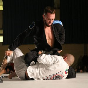 Mike competing at Tuff BJJ-Essex-Event