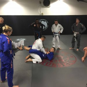 Mark teaching BJJ at FightSportsUK