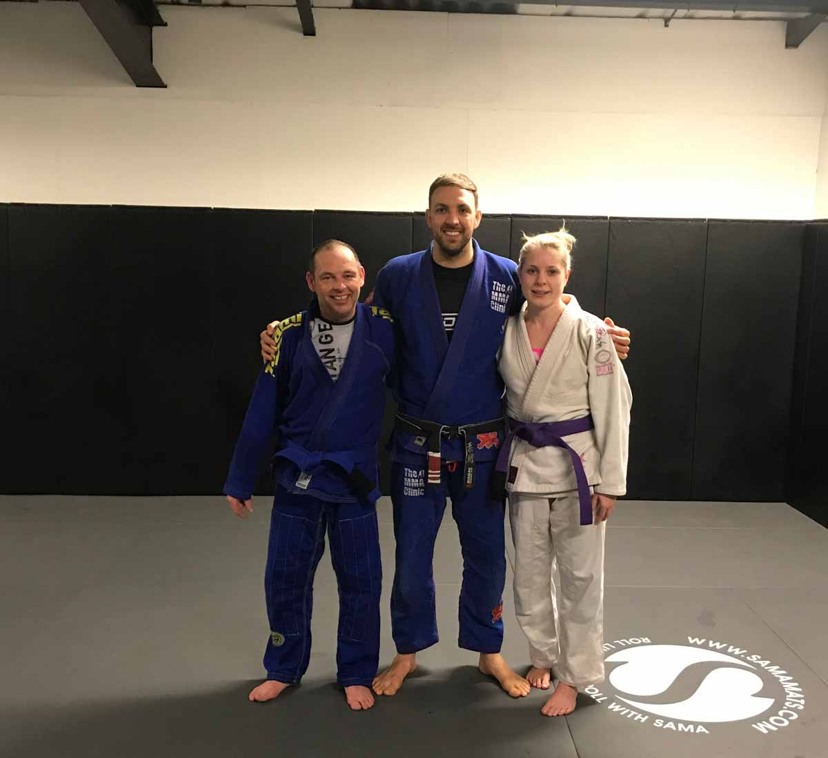 Purple Belt and Blue Belt Promotions under Michael Russell