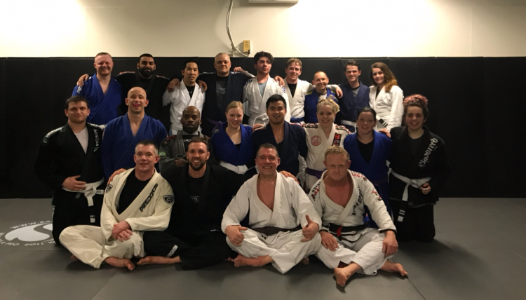 BJJ Essex Brown Belt Promotion under Michael Russell