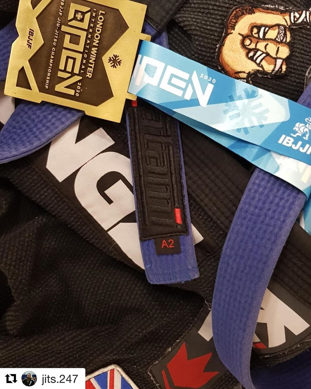 IBJJF Bronze Medal at the London Open