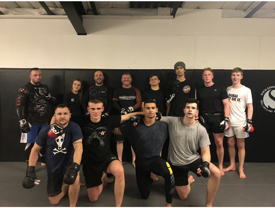 FightSportsUK MMA Team competed on CW Academy